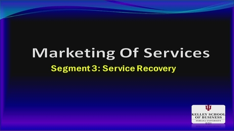 Thumbnail for entry M200 10-3 Service Recovery