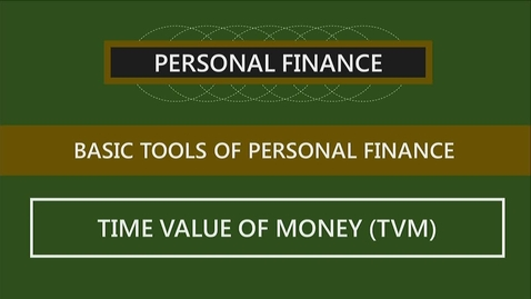 Thumbnail for entry F260 02-3 The Time Value of Money