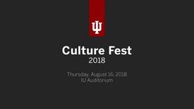 Thumbnail for entry CultureFest 2018