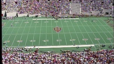 Thumbnail for entry 1996-09-14 vs Miami (OH) - Halftime (Band Day)