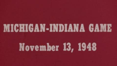 Thumbnail for entry 1948-11-13 at Michigan [Silent]
