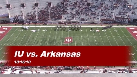 Thumbnail for entry 2010-10-16 vs Arkansas State - Pregame (Homecoming)