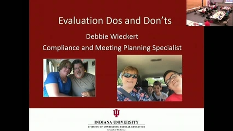 Thumbnail for entry CME RSS Coordinator Workshop - Evaluations