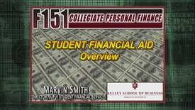 Thumbnail for entry F151_Financial Aid_Marvin Smith_Overview