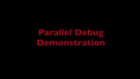 Thumbnail for entry L3 GDB Parallel Demo