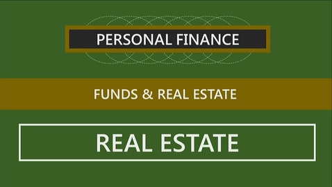 Thumbnail for entry F260 13-3 Investing in Real Estate