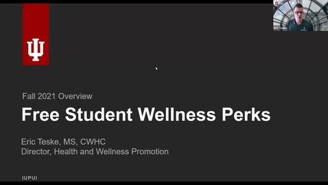 Thumbnail for entry Get to Know: Free Student Wellness Perks