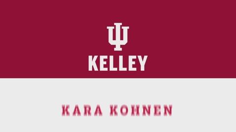 Thumbnail for entry CIBER Career Series: Kara Kohnen - Licensed Family Therapist