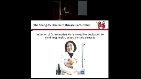 """Thumbnail for entry Pediatric Grand Rounds 6-13-18 - """"Genetic Surfactant Dysfunction: Lessons learned from rare disorders"""" - Lawrence M. Nogee MD"""