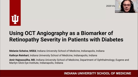 Thumbnail for entry Using OCT angiography as a biomarker of retinopathy severity in patients with diabetes