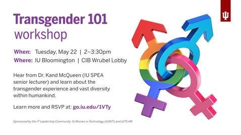 Thumbnail for entry Transgender 101 workshop on May 22, 2018