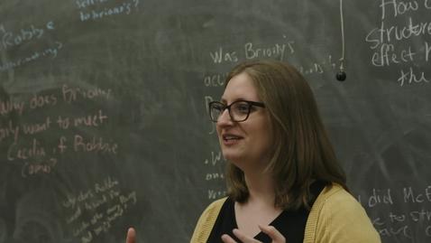 Thumbnail for entry 2019 Lieber Memorial Teaching Associate Award - Elizabeth Maffetone