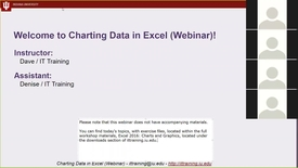 Thumbnail for entry Learn IT Quick - Charting Excel Data