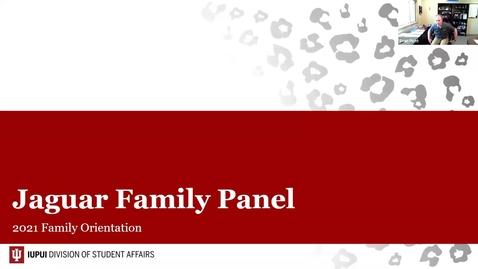 Thumbnail for entry Family Orientation 2021: Jaguar Family Panel - 7/15