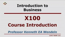 Thumbnail for entry X100_Course Introduction