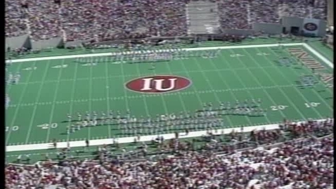 Thumbnail for entry 1997-10-04 vs Michigan - Halftime (Homecoming)