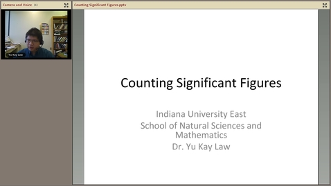 Thumbnail for entry Counting Significant Figures