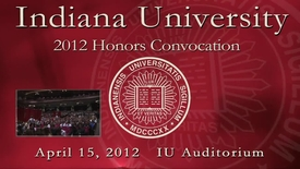 Thumbnail for entry 2012 Honors Convocation