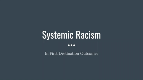 Thumbnail for entry Two Tip Tuesday 09 | Systemic Racism in FDS Outcomes