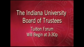 Thumbnail for entry 2013 Public Forum on Tuition/Fees