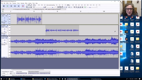 Thumbnail for entry K200 - Podcasting - Audacity - Fades & Final Cut