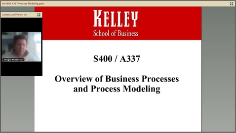 Thumbnail for entry dwoodhou MP4s_S400/A337_S400:A337 Business Process Modeling