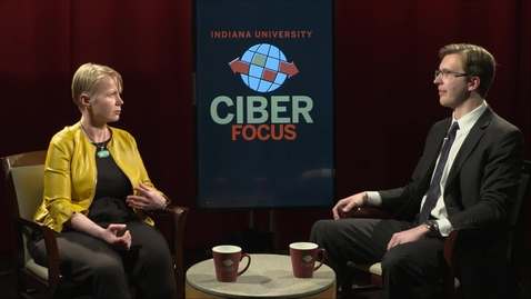 "Thumbnail for entry CIBER Focus: ""Sustainable Development Part 3: Cybersecurity in Estonia"" with Liisa Past - January 26, 2018"