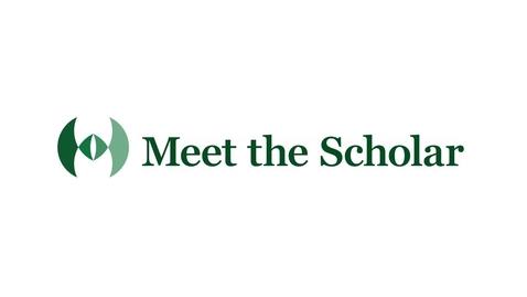 Thumbnail for entry Meet the Scholar: Bree Holtz