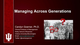 Thumbnail for entry Managing Across Generations