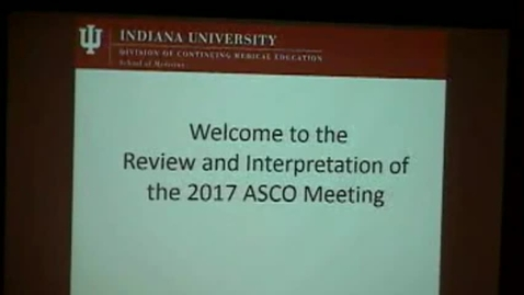 Thumbnail for entry ASCO Review 2017 AM - 20170721