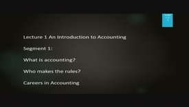 Thumbnail for entry A186 01-1 An Introduction to Accounting
