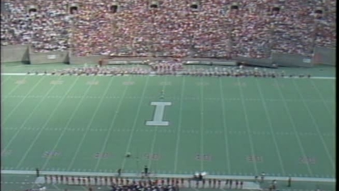 Thumbnail for entry 1985-09-21 vs Navy - Halftime