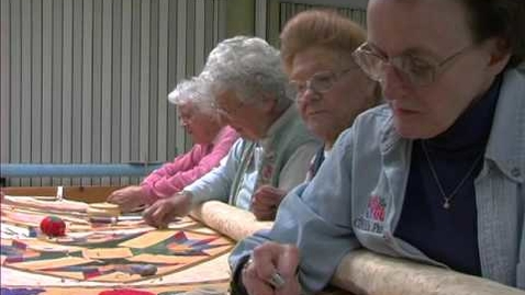 Thumbnail for entry The Piecemakers : Master quilters from Vanderburgh County
