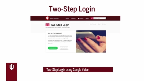 Thumbnail for entry Two-Step Login (Duo) using Google Voice