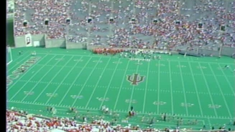 Thumbnail for entry 1986-10-11 vs Ohio State - Pregame (Homecoming)