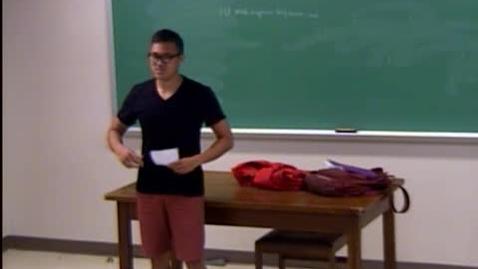 Thumbnail for entry Alex Ngo Speech #2