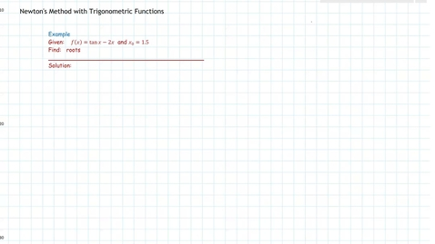 Thumbnail for entry 4.8 Newtons Method, Trig Function M215.mp4