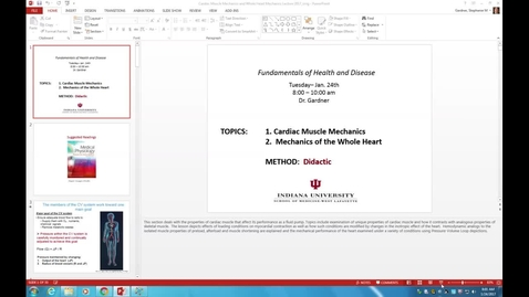 Thumbnail for entry WL - FHD - 170124 - Gardner - Cardiac Muscle Mechanics and Performance