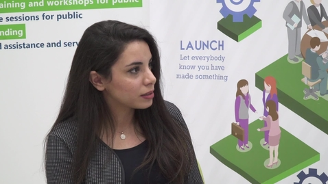 """Thumbnail for entry CIBER Focus: """"Startup Companies and Entrepreneurship in Palestine - Part 3"""" with Claudia Alawi - November 19, 2017"""