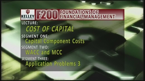 Thumbnail for entry F200_Lecture 09_Segment 1: Capital Component Costs
