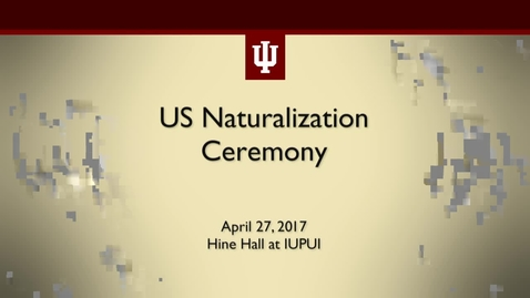 Thumbnail for entry US Naturalization Ceremony