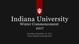 Thumbnail for entry Winter Commencement 2017