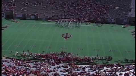 Thumbnail for entry 1992-10-24 vs Wisconsin - Pregame (Homecoming)