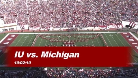 Thumbnail for entry 2010-10-02 vs Michigan - Halftime