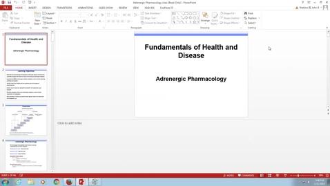 Thumbnail for entry BL FDH Adrenergic - 2017 Jan 11 04:48:04