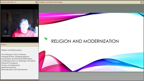 Thumbnail for entry Religion and Modernism