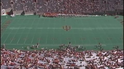 Thumbnail for entry 1989-10-21 vs Minnesota - Pregame (Homecoming)
