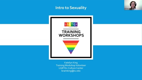 Thumbnail for entry Training Workshop: Intro to Sexuality, 2/3/2021