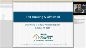 Thumbnail for entry Back Home in Indiana Alliance Olmstead Decision