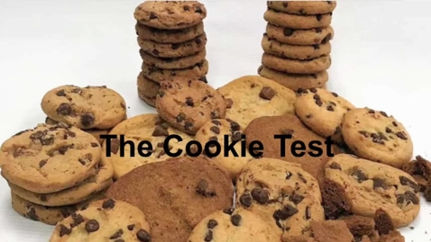 Thumbnail for entry The Cookie Test